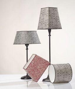 L'Atelier de l'Abat-Jour - chevrons - Lampe À Poser