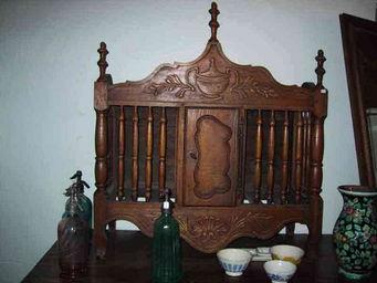 Abacadabra Antiquités - panetiere de style louis xv - Panetière
