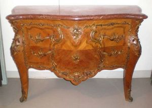 Philippe Pope - commode estampillée - Commode