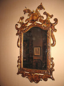 FOSTER-GWIN - chinoiserie decorated mirror - Miroir
