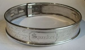 ALASTAIR DICKENSON - prize dog collar - collier de chien - Collier D'identification