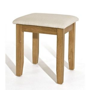 Abode Direct - denver oak stool - Tabouret