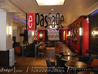 Anegil - bar restaurant - Réalisation D'architecte D'intérieur
