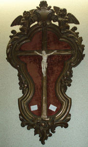 Lola Brocante - crucifix ancien en ivoire - Crucifix