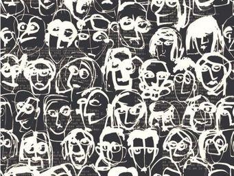 Equipo DRT - divertimento_les amis antracita - Papier Peint