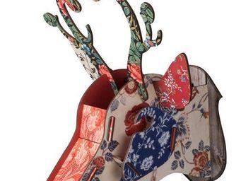 File dans ta chambre - troph�e chevreuil - D�coration Murale Enfant