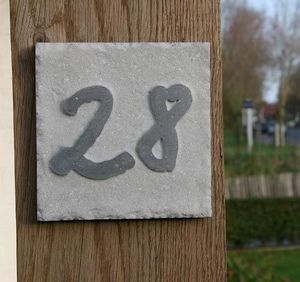 Signum Concept - square 5 - Numéro De Porte