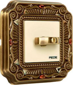 FEDE - palace crystal de luxe firenze collection - Interrupteur Rotatif