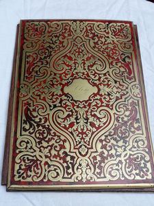 Art & Antiques - porte document en marqueterie boulle xixe - Porte Documents