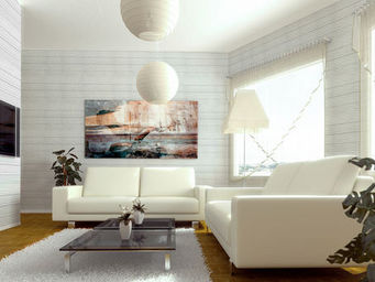 GALIPERFIL SILKWOOD - white environment - Panneau D�coratif