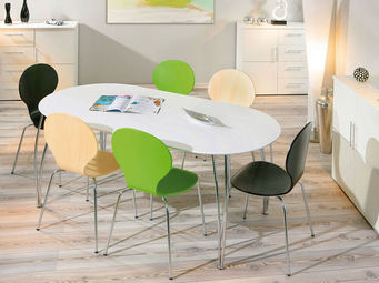 Miliboo - oxane table a manger - Table De Repas Ovale