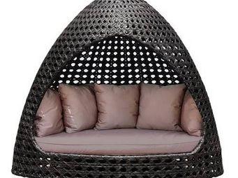 Alexander Rose - hutte de jardin océan en viro et aluminium 210x230 - Lit D'extérieur