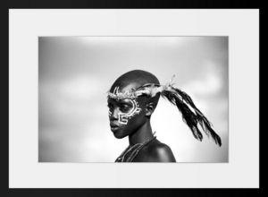 PHOTOBAY - garçon masaï - Photographie