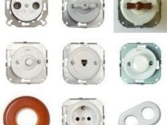 Replicata - unterputzschalterserie colonial - Interrupteur Rotatif