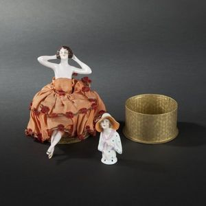 Expertissim - bonbonni�re en porcelaine - Bonbonni�re