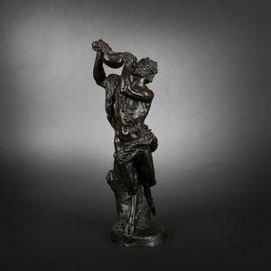 Expertissim - satyre en bronze d'après clodion - Statuette