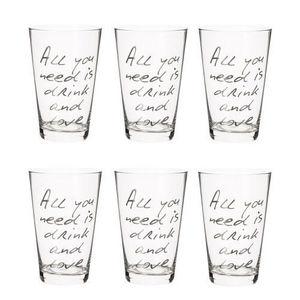 Maisons du monde - coffret 6 verres all you need - Verre