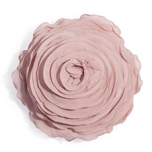 MAISONS DU MONDE - coussin rose lilas - Coussin Forme Originale