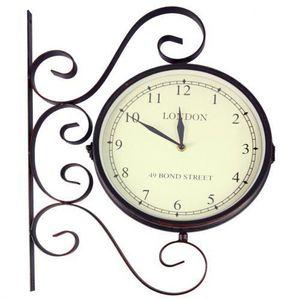 Maisons du monde - horloge applique bond street - Horloge De Cuisine