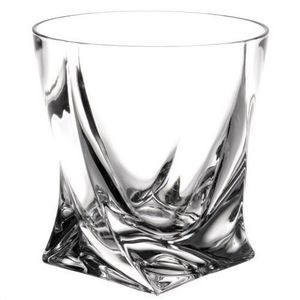 Maisons du monde - gobelet en verre quadr - Verre À Whisky