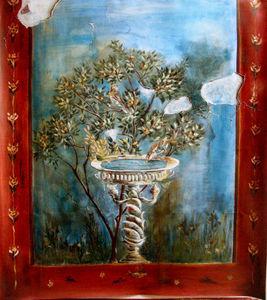 SYLVIE MAILHÉ POURSINES -  - Fresque