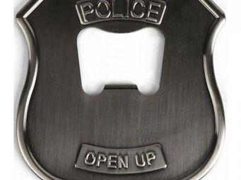 Manta Design - décapsuleur badge de police - Décapsuleur