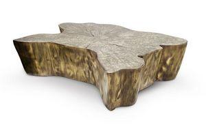 BOCA DO LOBO - eden patina - Table Basse Ovale