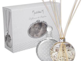 Mathilde M - diffuseur verre souffl� ballet des papillons, parf - Diffuseur De Parfum