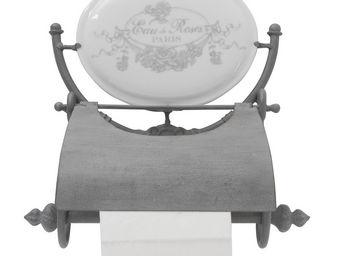 Mathilde M - dérouleur papier toilette eau de roses - Distributeur Papier Toilette