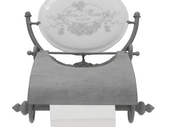 Mathilde M - d�rouleur papier toilette eau de roses - Distributeur Papier Toilette