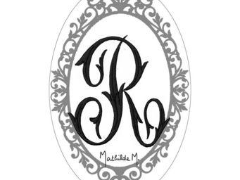 Mathilde M - savon alphabet monogramme r - Savon