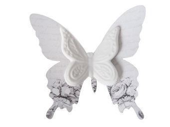Mathilde M - papillon biscuit � pince guirlande - D�cor �v�nementiel