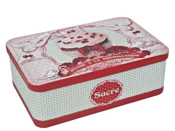 Orval Creations - bo�te � sucre gourmandise - Boite � Biscuits