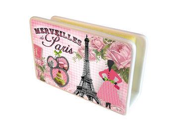 Orval Creations - cache-�ponges merveilles de paris - Porte �ponge