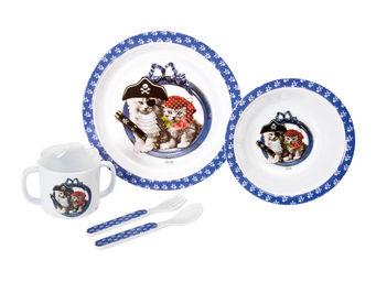 Orval Creations - coffret repas petits pirates - Assiette Enfant