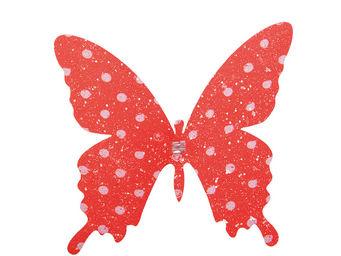 Orval Creations - papillon � pince premier frimas - D�coration De Table
