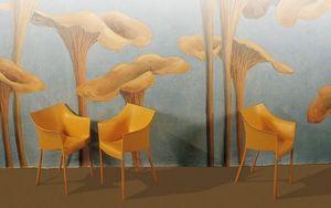 Fabienne Colin -  - Peinture Murale