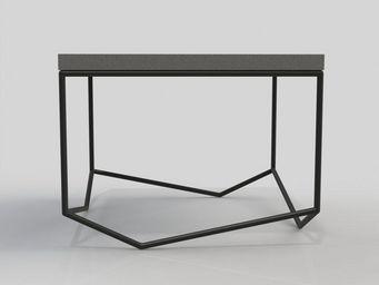 MALHERBE EDITION - table béton la bancale carrée - Table Basse Carrée