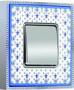 FEDE - belle époque porcelain collection - Interrupteur