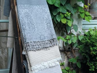 BLANC D'IVOIRE - cashmere - Plaid