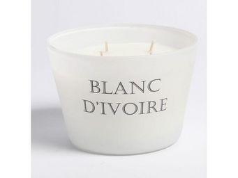BLANC D'IVOIRE - fleur d'eau - Bougie Parfum�e