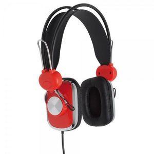 La Chaise Longue - casque bobby rouge - Casque Audio