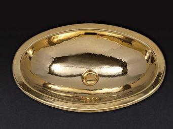 Cristal Et Bronze - antartica - Vasque À Encastrer
