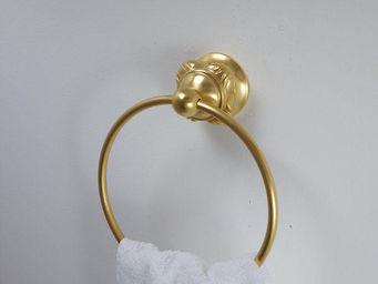 Cristal Et Bronze - versailles boutons - Anneau Porte Serviette