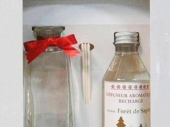 Le Pere Pelletier - diffuseur aromatique noël senteur forêt de sapins - Essences Parfumées