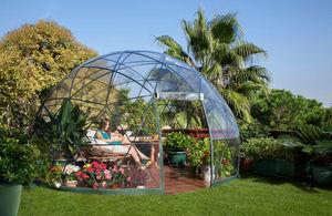GARDEN IGLOO - igloo de jardin dôme 4 saisons 3,60x2,20m - Serre