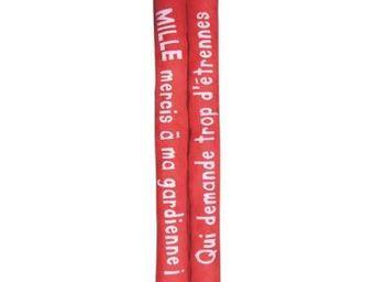 Cm - boudin de porte double su�dine - couleur - rouge - Boudin De Porte