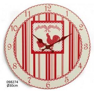 FAYE - horloge coco - Horloge Murale