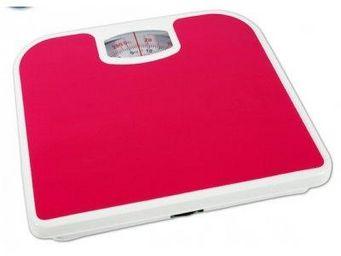 Fomax - pèse-personne uni - couleur - rouge - Pèse Personne