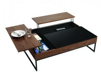 BoConcept France - chiva  - Table Basse Avec Plateau Escamotable